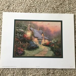 Thomas Kinkade - Set of Five Prints